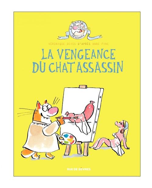 le chat assassin t.3 ; la vengeance du chat assassin