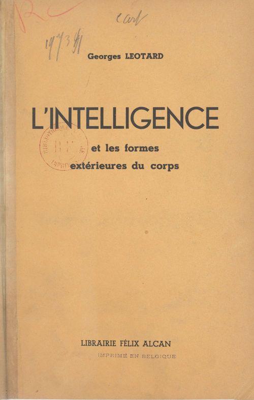 L'intelligence et les formes extérieures du corps