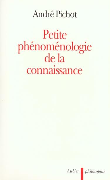 Petite phenomenologie de la connaissance