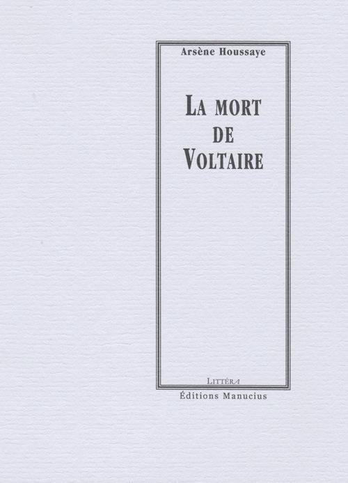 La mort de Voltaire