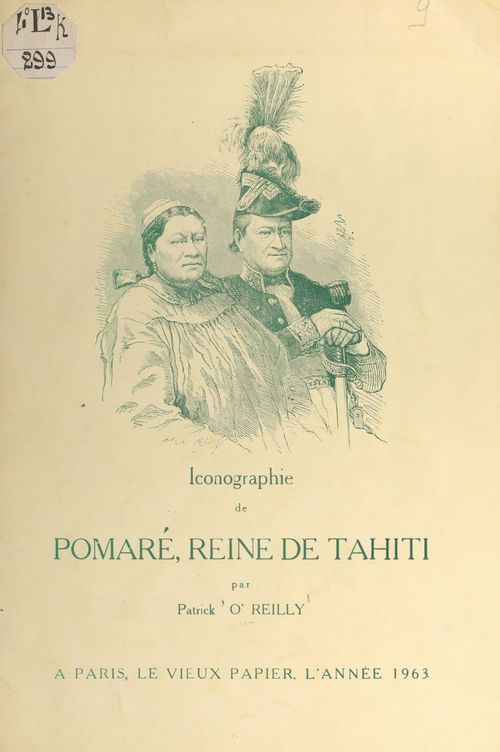 Iconographie de Pomaré, reine de Tahiti