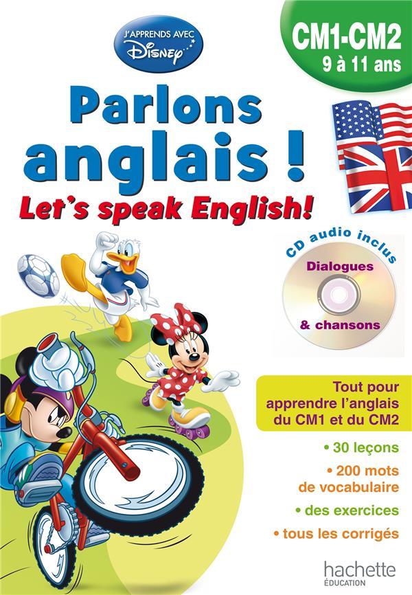 Parlons anglais avec Mickey ; let's speak english! CM1/CM2 ; 9/11 ans