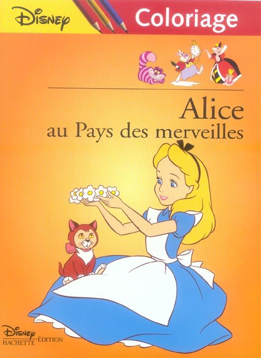 Coloriage Disney Grand Format.Alice Au Pays Des Merveilles Disney Coloriage Disney