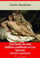 Les Fleurs du mal (édition posthume suivi des Épaves) - suivi d'annexes