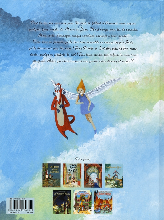 Un drôle d'ange gardien t.7 ; le nuage-danse