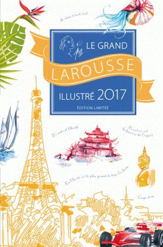 Grand Larousse illustré 2017 coffret Noël