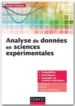 Analyse de données pour la physique ; cours et exercices corrigés
