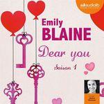 Vente AudioBook : Dear you - saison 1  - Emily Blaine