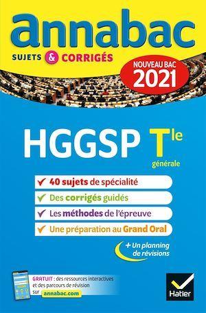 Annales du bac Annabac 2021 HGGSP Tle générale (spécialité)