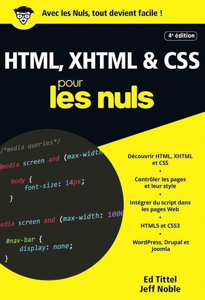 HTML, XHTML & CSS (4e édition)