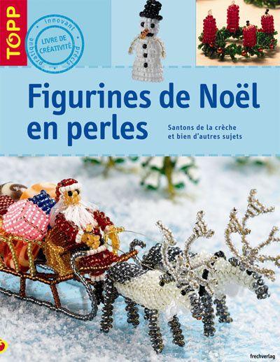 Figurines de Noël en perles