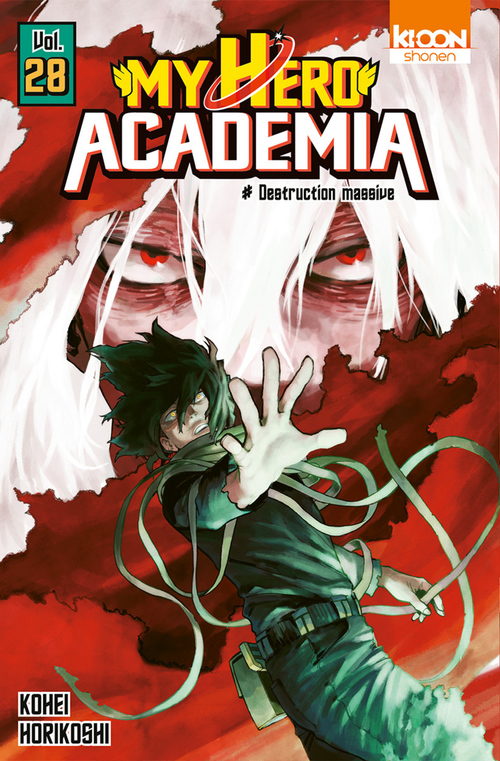 My hero Academia T.28 ; destruction massive