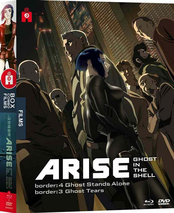 ghost in the shell : arise 3 et 4