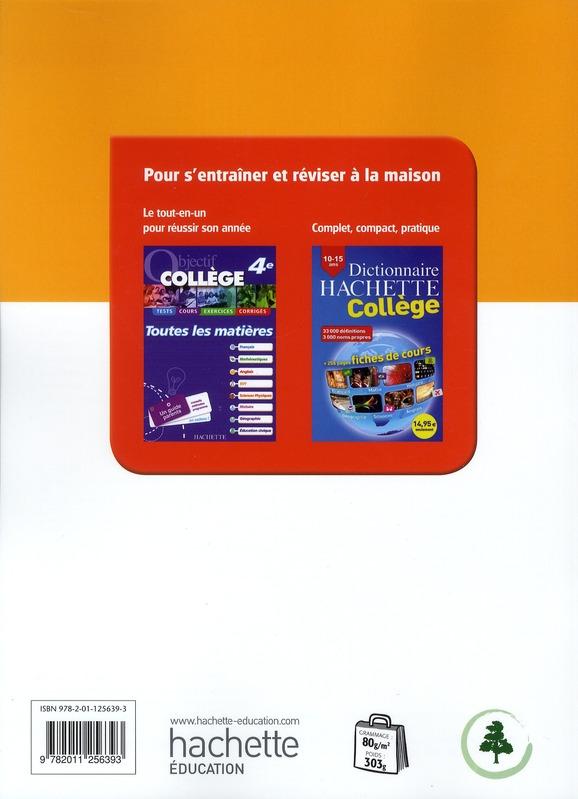 éducation civique ; 4ème ; livre de l'élève (édition 2011)