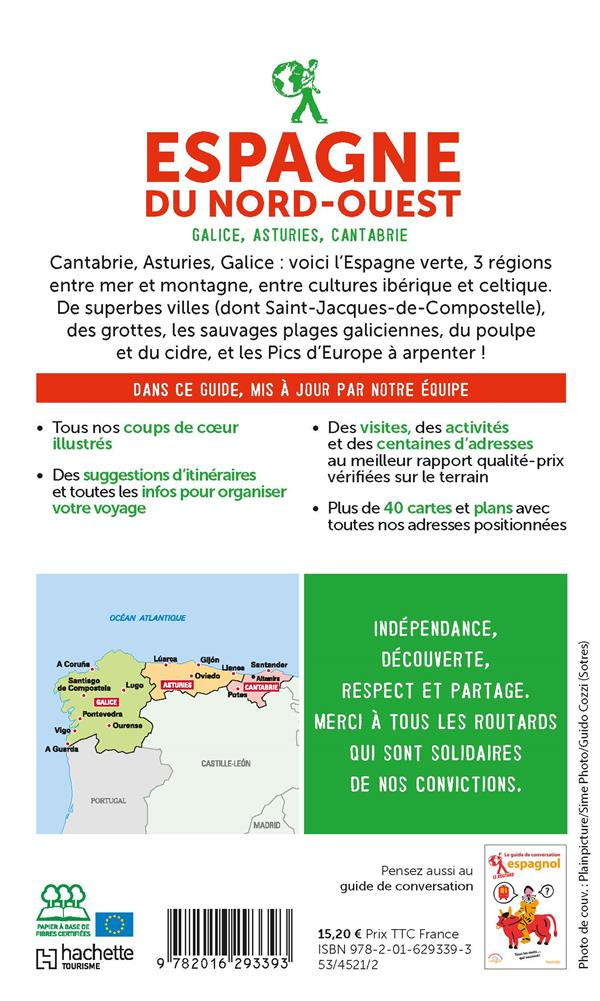Guide du Routard ; Espagne du nord-ouest : Galice, Asturies, Cantabrie (édition 2021/2022)