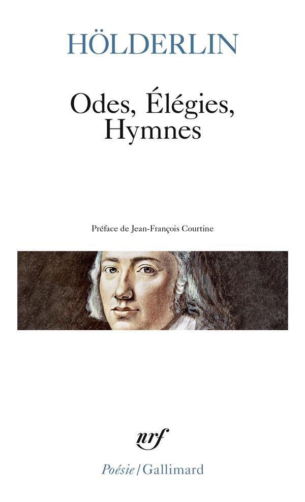 Odes ; élégies ; hymnes