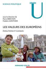 Vente Livre Numérique : Les valeurs des Européens  - Pierre BRECHON - Frédéric Gonthier