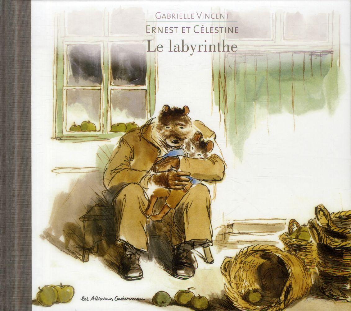 Ernest et Célestine ; le labyrinthe
