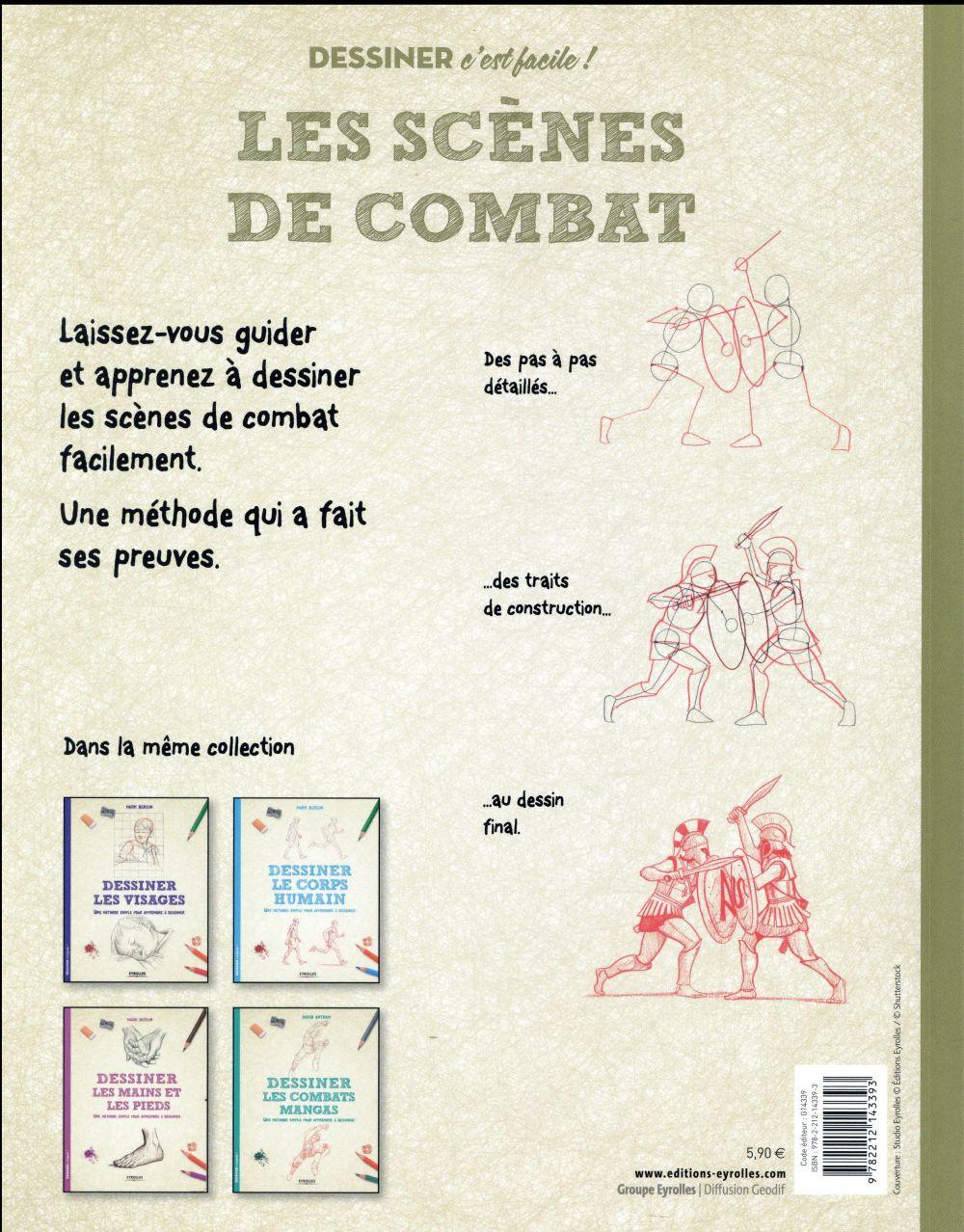 Dessiner les scènes de combat ; une méthode simple pour apprendre à dessiner