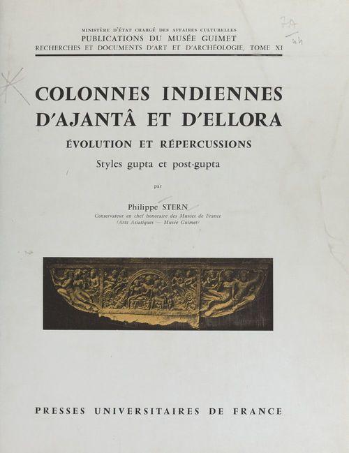 Colonnes indiennes d'Ajantâ et d'Ellora