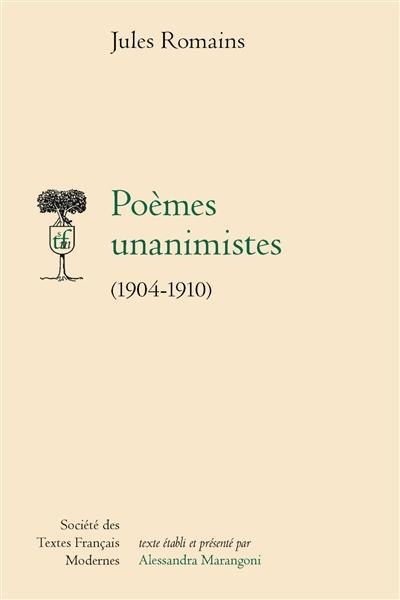 poèmes unanimistes (1904-1910)