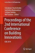 Proceedings of the 2nd International Conference on Building Innovations