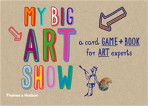 My big art show a card game + book -