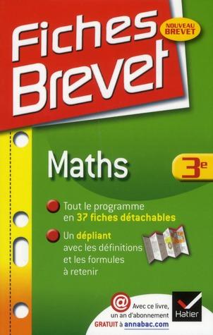 Fiches Brevet; Mathematiques ; 3eme