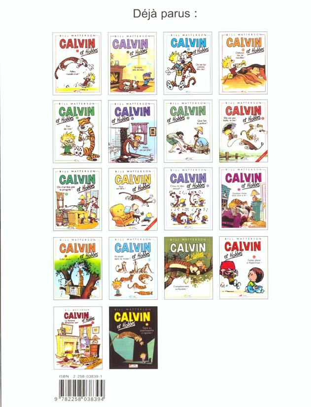 Calvin et Hobbes t.6 ; allez, on se tire !