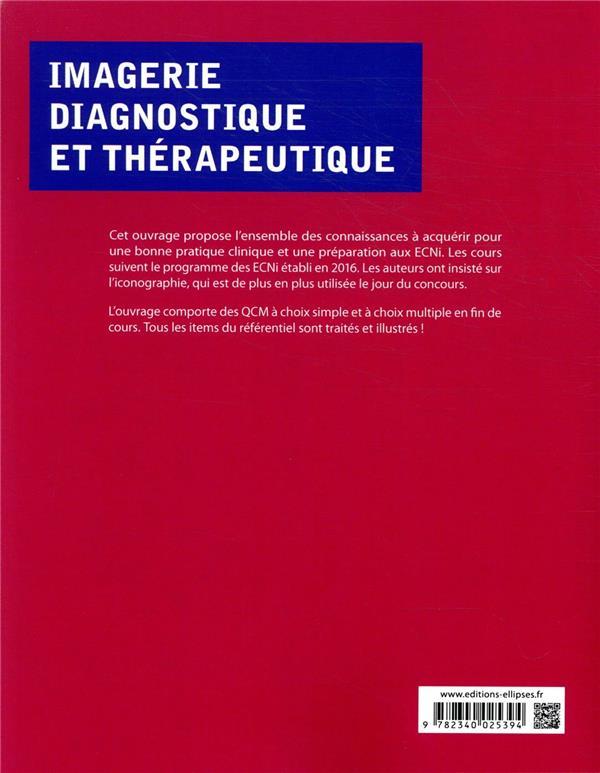 Imagerie diagnostique et thérapeutique; ECNi ; tout le programme de la spécialité détaillé et illustré