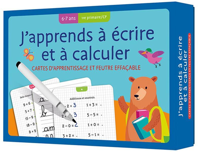 J'apprends à écrire et à calculer