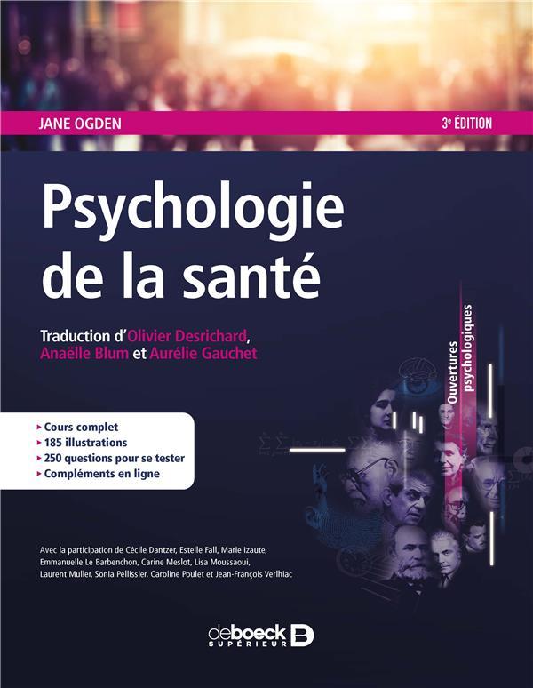 Psychologie de la santé (3e édition)