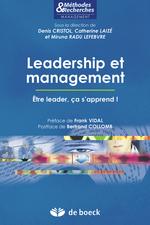 Vente Livre Numérique : Leadership et management  - Denis Cristol - Miruna Radu Lefebvre - Catherine Laizé