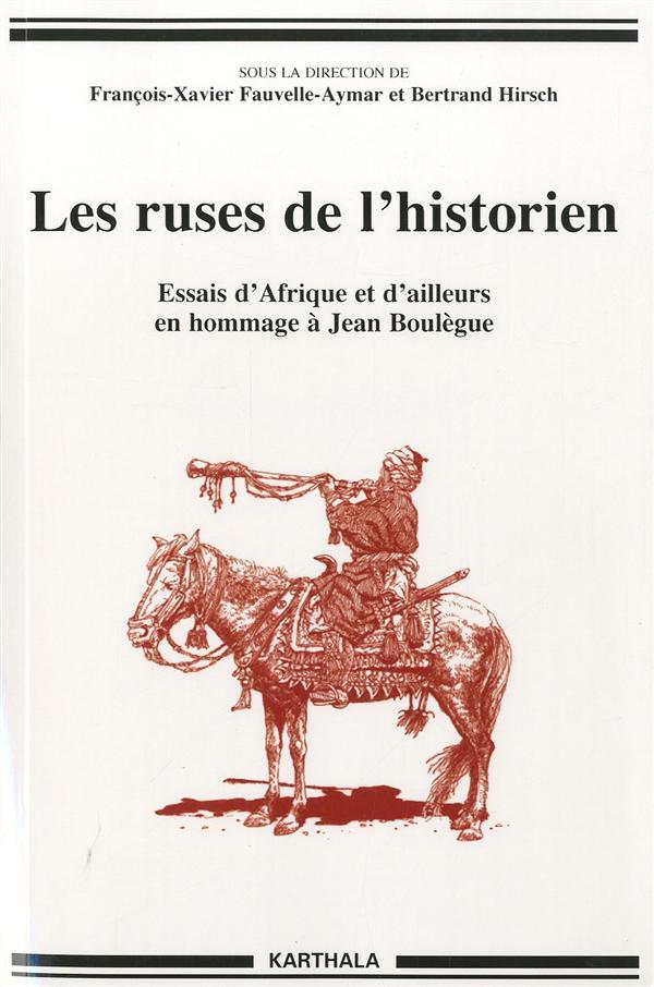 Les ruses de l'historien ; essais d'Afrique et d'ailleurs en hommage à Jean Boulègue