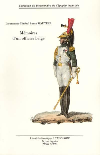 Mémoires d'un officier belge