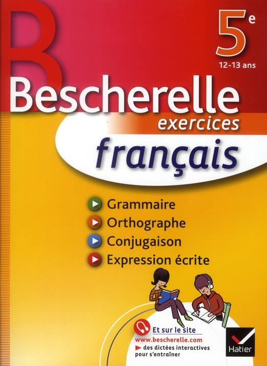 Bescherelle Francais 5eme Cahier M Ghelber Hatier Grand Format Librairie Autrement St Denis