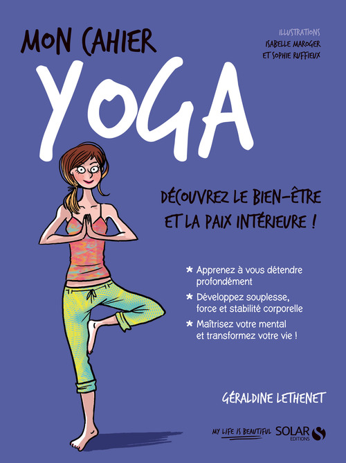 MON CAHIER ; yoga (édition 2017)