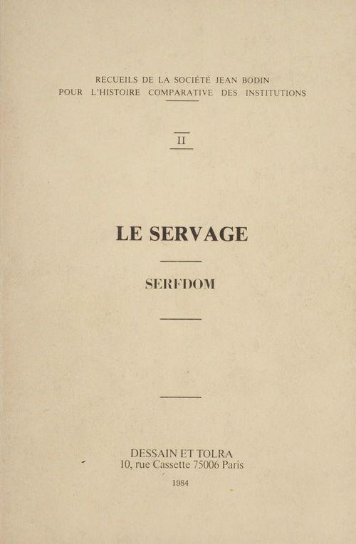 Le Servage