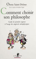 Comment choisir son philosophe ?