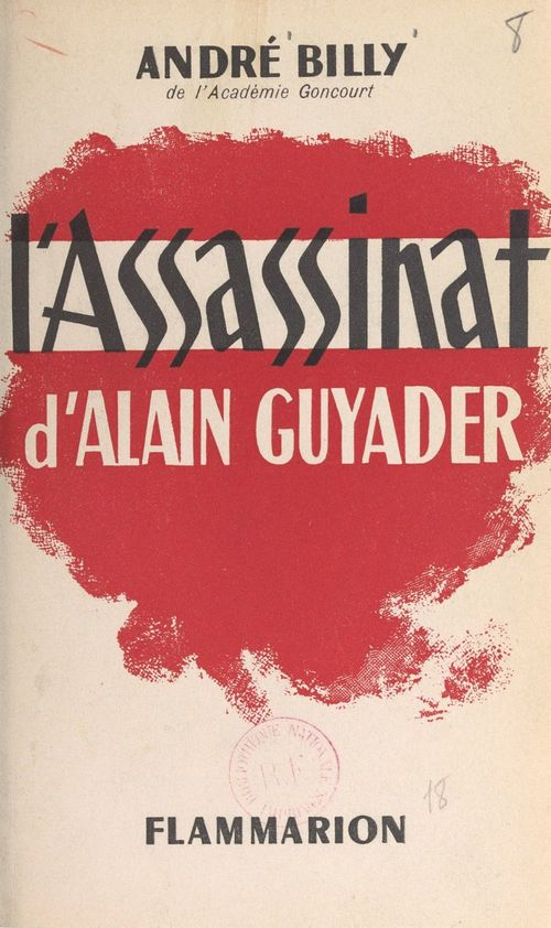 L'assassinat d'Alain Guyader