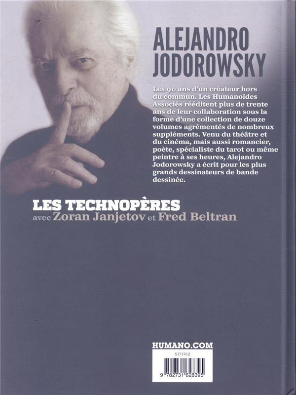 Les Technopères ; INTEGRALE T.1 A T.8