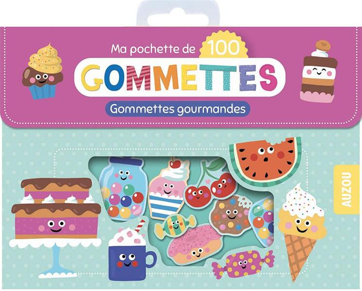 MA POCHETTE DE GOMMETTES  -  MES GOMMETTES GOURMANDES