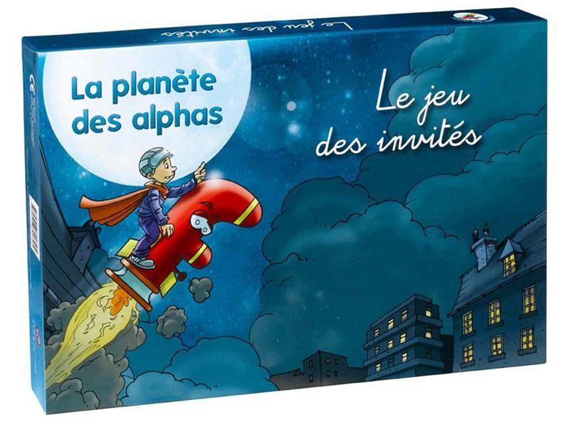 La Planete Des Alphas Le Jeu Des Invites Claude Huguenin Recrealire Papeterie Coloriage Le Hall Du Livre Nancy