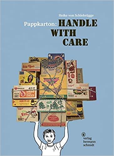 Pappkarton handle with care /anglais
