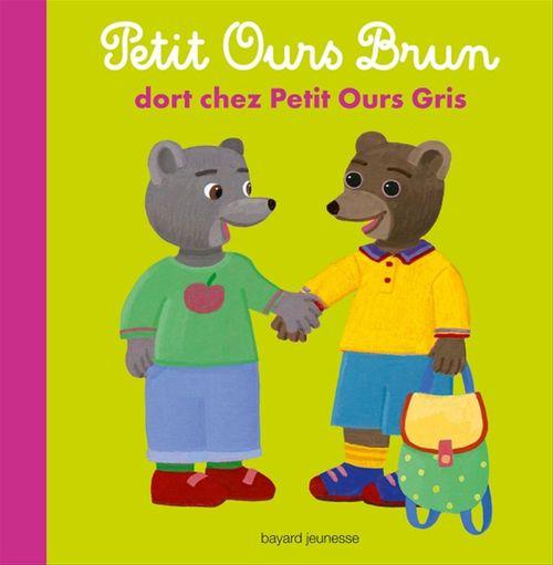 Petit Ours Brun dort chez Petit Ours Gris
