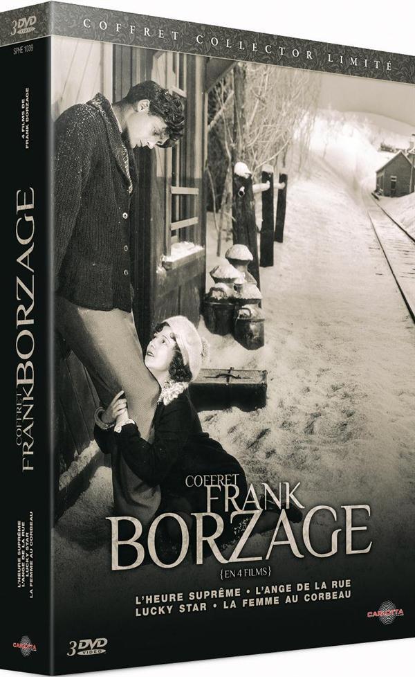 Coffret Frank Borzage en 4 films - L'heure suprême + L'ange de la rue + Lucky Star + La femme au corbeau