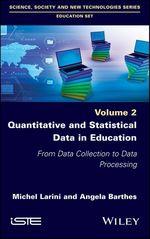 Vente Livre Numérique : Quantitative and Statistical Data in Education  - Angela Barthes - Michel Larini