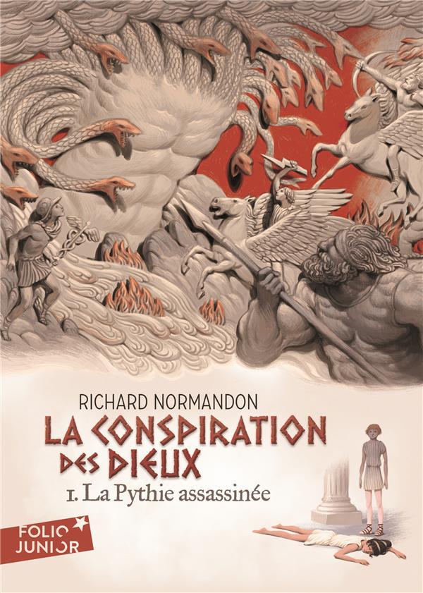 LA CONSPIRATION DES DIEUX T.1  -  LA PYTHIE ASSASSINEE