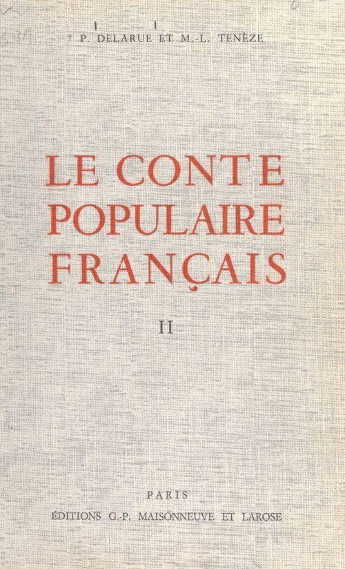 Le conte populaire français (2)