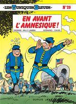 Couverture de Les tuniques bleues t.29 ; en avant l'amnésique
